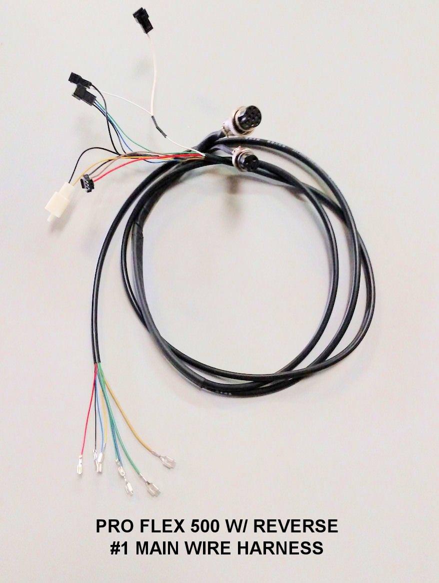 pro flex 500 #1 main wire harness